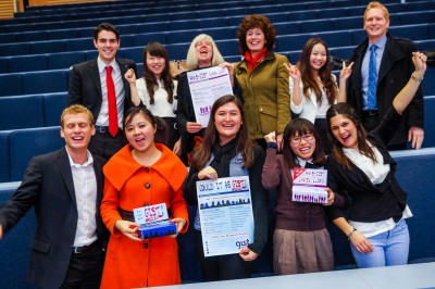 Winning Team Zurich Challenge - Bath University Postgraduates